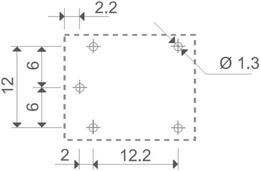 Nyák teljesítményrelé, 12V DC SERIE 36