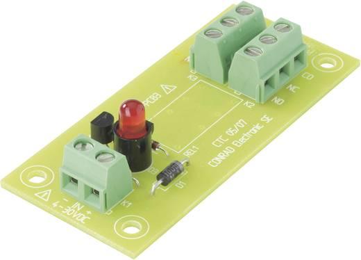 Relé panel, relé nélkül, REL-PCB3 Conrad REL-PCB3 0 4 - 30 V/DC 2 váltó 3 A/230 V/AC