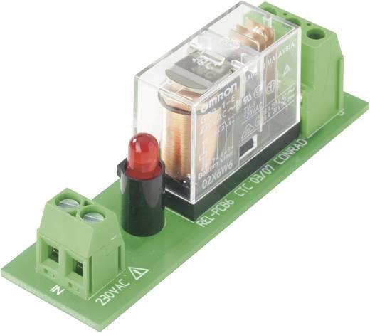 Reléfoglalalt relével, 230VAC REL-PCB6
