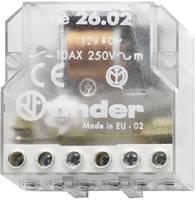 Impulzuskapcsoló, léptető kapcsoló, 24 V/AC 2 záró, 10 A 400 VAC/220 VDC 2500 VA, Finder 26.02.8.024.0000 (26.02.8.024.0000) Finder