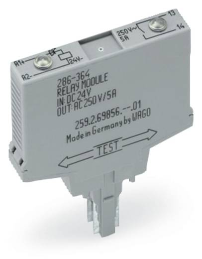 Relé modul 1 váltó 250 V, WAGO 286-364/004-000