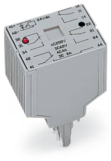 Relé modul 4 váltó 250 V, WAGO 286-375