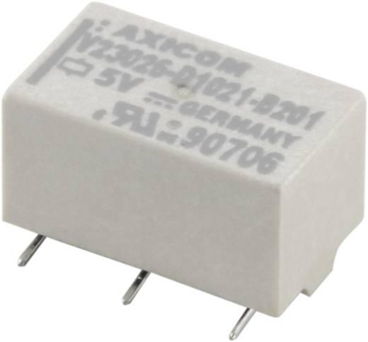 SMD relé 5 V/DC 1 A 1 váltó TE Connectivity V23026-D1 1 db