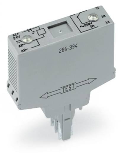 Relé modul 1 váltó, WAGO 286-394/004-000