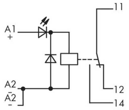 Relé modul 1 váltó, WAGO 286-394