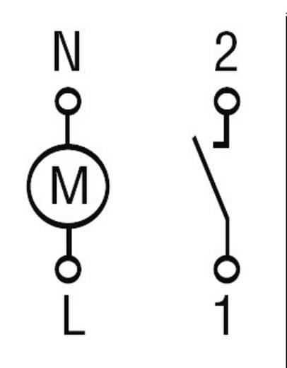 Finder DIN sínes napi időkapcsolórelé, 1 áramkör, 230V/AC, 250V/16A, 12.11.8.230.0000