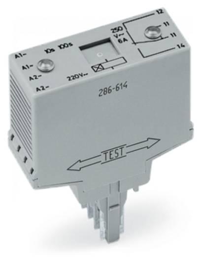 Időrelé modul 1 váltó 250 V, WAGO 286-604/004-000