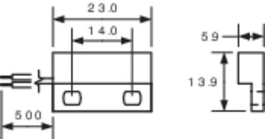 Miniatűr Reed érzékelő 1 váltó 0,25 A 175 V/DC/ 120 V/AC 5 W, PIC MS-324-4