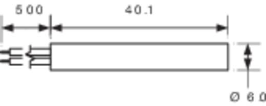 Hengeres Reed érzékelő 1 váltó 0,25 A 175 V/DC/ 120 V/AC 5 W, MS-2XX PIC MS-217-4