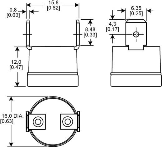 Hőmérséklet érzékelő, 6655RP-9003007 -20 - +110 °C