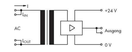 Áramfolyás figyelő modul, WAGO 286-661