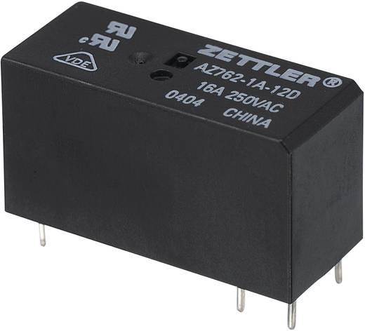 Miniatűr teljesítményrelé Zettler Electronics AZ762-1A-12DE 12 V/DC 1 záró, 16 A, 150 V/DC/440 V/AC, 4432 VA/480 W