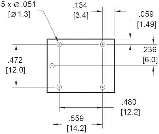 Miniatűr nyák relé, Zettler Electronics AZ943-1CH-6DE 6 V/DC 1 váltó, 15 A, 30 V/DC/300 V/AC, 2770 VA/210 W