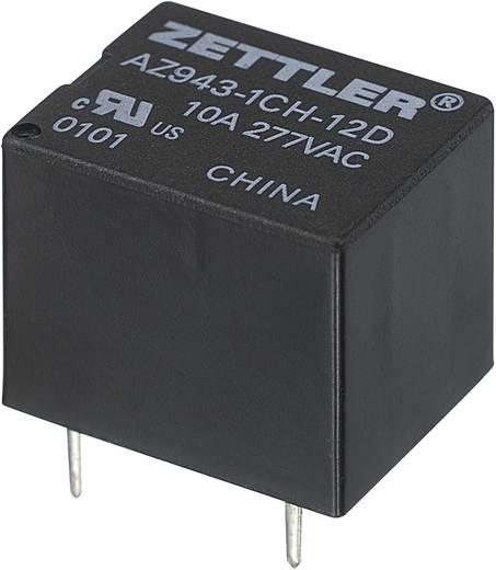 Miniatűr nyák relé, Zettler Electronics AZ943-1CH-12DE 12 V/DC 1 váltó, 15 A, 30 V/DC/300 V/AC, 2770 VA/210 W