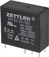 Miniatűr teljesítményrelé Zettler Electronics AZ733-2C-12DE 12 V/DC 2 váltó, 10 A, 150 V/DC/380 V/AC, 2500 VA/300 W (503618) Zettler Electronics