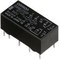 Jelzőrelé, bistabil, 24 V/DC 2 váltó (30 V/DC) 2 A/ (125 V/AC) 0,5 A Omron G6AK-274P-ST-US 24 VDC (G6AK-274P-ST-US 24 VDC) Omron