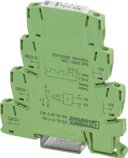 Phoenix Contact DIN sínes időkapcsolórelé, 1 áramkör, 24V/DC, ETD-BL-1T-F-300MIN