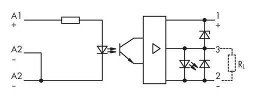 Optocsatoló modul 2 - 6,25 V/DC, WAGO 286-752/002-000