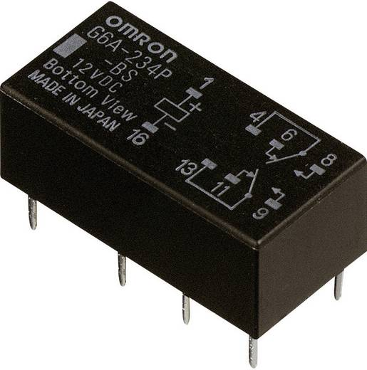 Jelzőrelé, monostabil, 5 V/DC 2 váltó (30 V/DC) 2 A/ (125 V/AC) 0,5 A Omron G6A-274P-ST-US 5 VDC