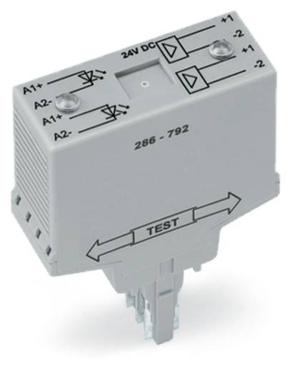 Optocsatoló modul 7,5 - 30 V/DC, WAGO 286-792