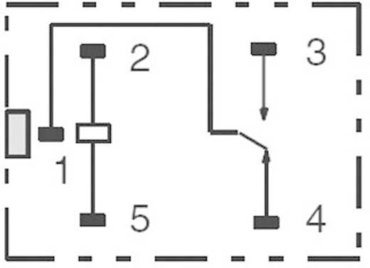 Kocka relé 24 V/DC 1 váltó, 30 V/DC 8 A, 250 V/AC 10 A, Omron G5LE-1-VD 24 VDC