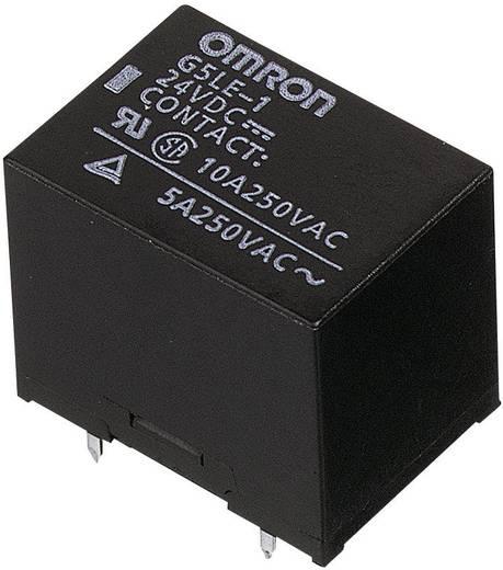 Kocka relé 5 V/DC 1 váltó, 30 V/DC 8 A, 250 V/AC 10 A, Omron G5LE-1-VD 5 VDC