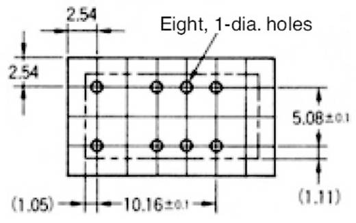Rendkívül vékony jel relé 24 V/DC 2 váltó, 2 A 220 V/DC/250 V/AC, 62,5 VA/60 W, Omron G6S-2 24 VDC