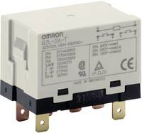 Nagy teljesítményű relé 240 V/AC 2 záró, 25 A 250 V/AC, 5500 VA, Omron G7L-2A-T 200-240 VAC (G7L-2A-T 200-240 VAC) Omron