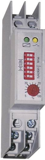 Multifunkciós időrelé 24/230 V/AC 1 váltó 6 A 250 V/AC, HSB Industrieelektronik ZMRF1