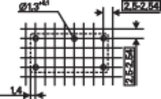 PE teljesítmény relé, monostabil 12 V/DC 1 váltó 5 A 250 V/AC, 1250 VA, TE Connectivity PE014012