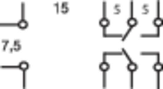 Relé, G2R-2 általános típus, 5 A, 2 váltó