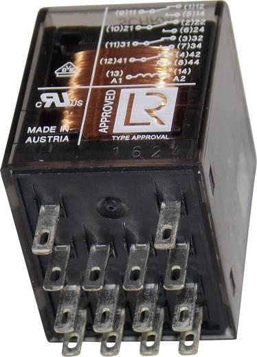 Miniatűr relé 12 V/DC 4 váltó 6 A 250 V/AC, 1500 VA, TE Connectivity PT570012