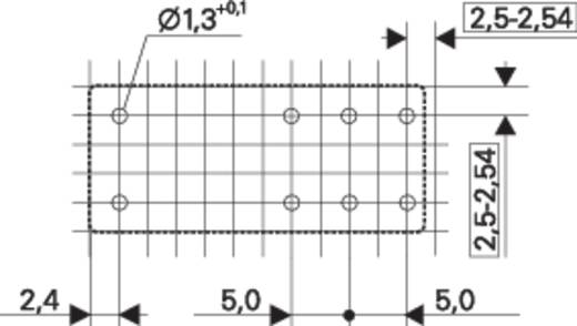Reléfoglalalt relével, 230VAC REL-PCB5