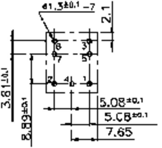 Autó relé 12 V/DC 1 záró, 15 A 14 V/DC 210 W, Song Chuan 861-1A-S 12
