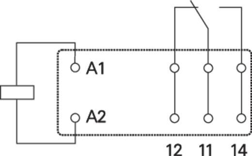 Teljesítményrelé, 1UK 12VDC 16A RT1