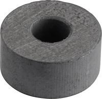 Tartós mágnes, BaFe, gyűrű Ø 15 x 7 mm, 0.1 T, Y-10T, 1 db