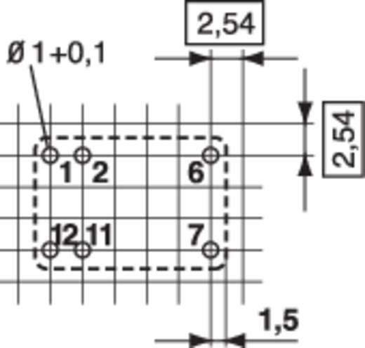 Relépanel REL-PCB4 relével 5 V/DC tekerccsel Conrad REL-PCB4 1 5 V/DC 1 váltó 50 W/110 VA