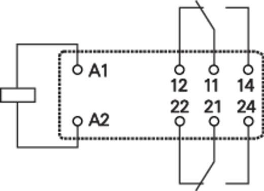 Teljesítményrelé, 2UK 230VAC 8A RT2