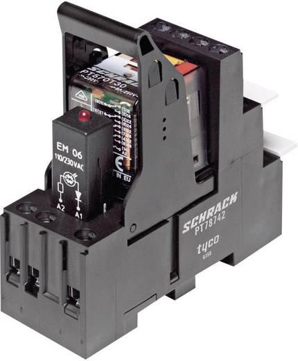 Relé készlet 24 V/DC 4 váltó 6 A 250 V/AC 1500 VA, TE Connectivity PT5L7LC4