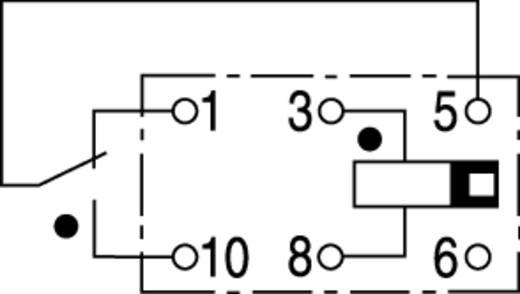 Miniatűr relé, monostabil, 5 V/DC 1 váltó 1 A 150 V/DC/125 V/AC 60 VA, TE Connectivity V23026-A1001-B201