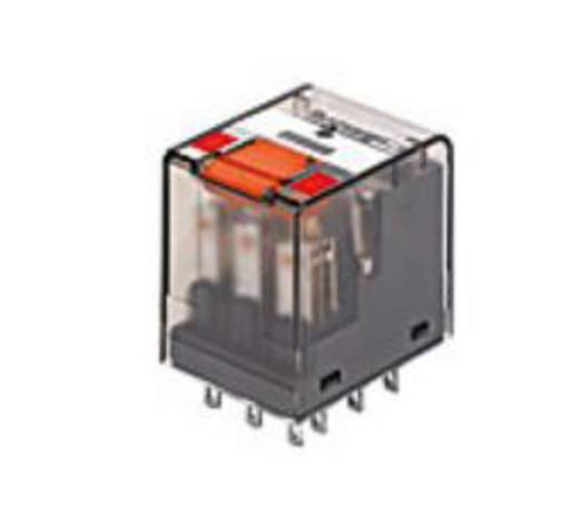 Miniatűr relé 12 V/DC 2 váltó 12 A 250 V/AC, 3000 VA, TE Connectivity PT270012