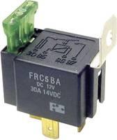 Autó relé biztosítékkal, 1xbe, 30A, FIC FRC5BA-DC12V (FRC5BA-DC12V) FiC