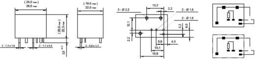 Autó relé, 1Xát 40A(NO) FRA2C-2-DC12V