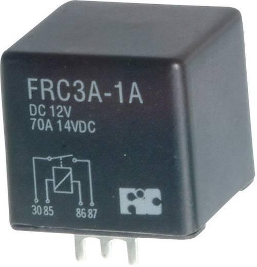 Autó relé, 1Xbe, 70A(NO) FRC3A-1A-DC12V