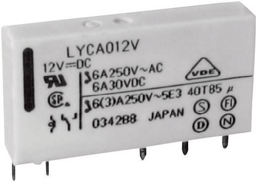 Fujitsu hálózati relé 24 V/DC, 1x 6 A / 250 V/AC, FTR-LYCA024V
