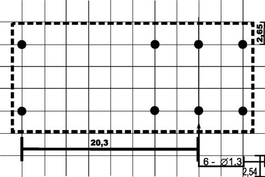 Fujitsu hálózati relé 24 V/DC, 1x 16 A / 250 V/AC, FTR-K1CK024W