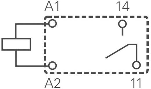 Miniatűr nyák teljesítmény relé 24 V/DC 1 záró, 8 A 250 V/AC 2000 VA, TE Connectivity OJ-SS-124LMH2