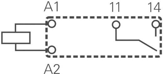 Miniatűr nyák relé 12 V/DC 1 záró, 5 A 250 V/AC, 440 V/AC 1250 VA, TE Connectivity PCJ-112D3M-WG