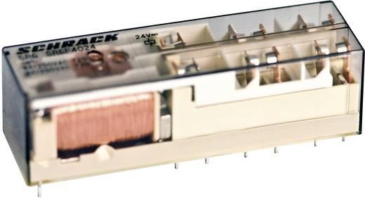 Biztonsági relé 24 V/DC 4 záró/2 nyitó, 8 A 400 V/AC 2000 VA, TE Connectivity SR6B6K24