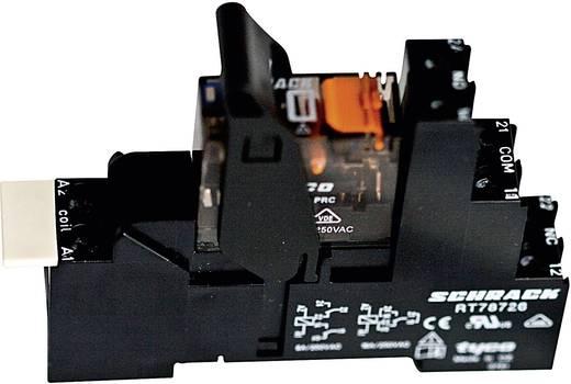 Relé készlet 115 V/AC 2 váltó 8 A 240 V/ AC 2000 VA, TE Connectivity XT4S4S15